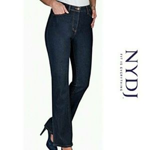 PLUS NYDJ High Rise Boot Cut Jeans 14W